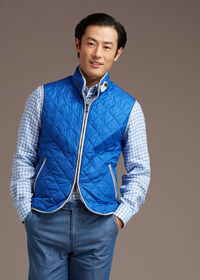 Nylon Vest With Piping, thumbnail 6