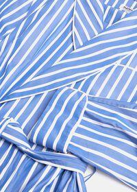 Awning Stripe Cotton Robe, thumbnail 2