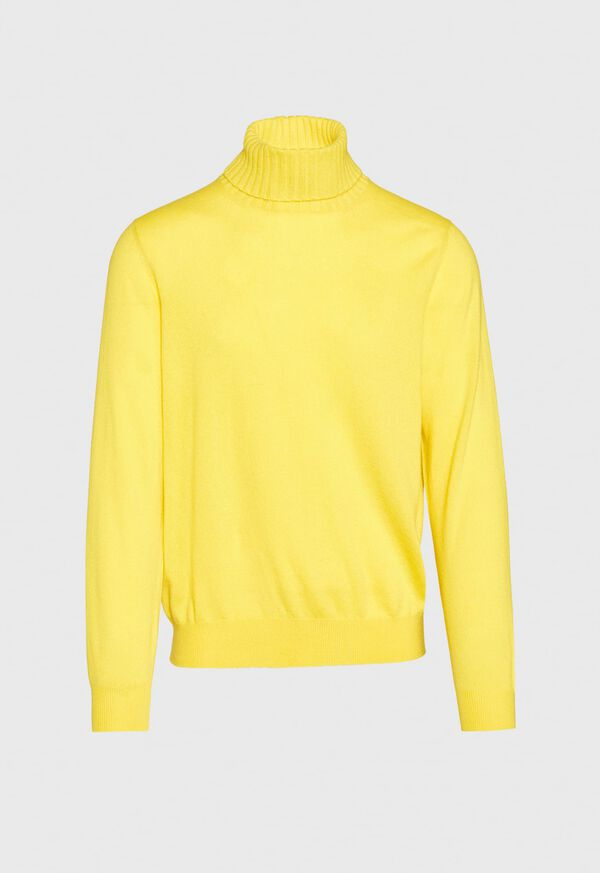 Cashmere Solid Turtleneck, image 5