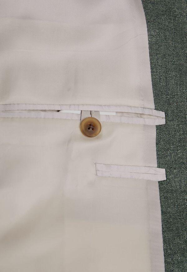 Solid Green Sport Jacket, image 3