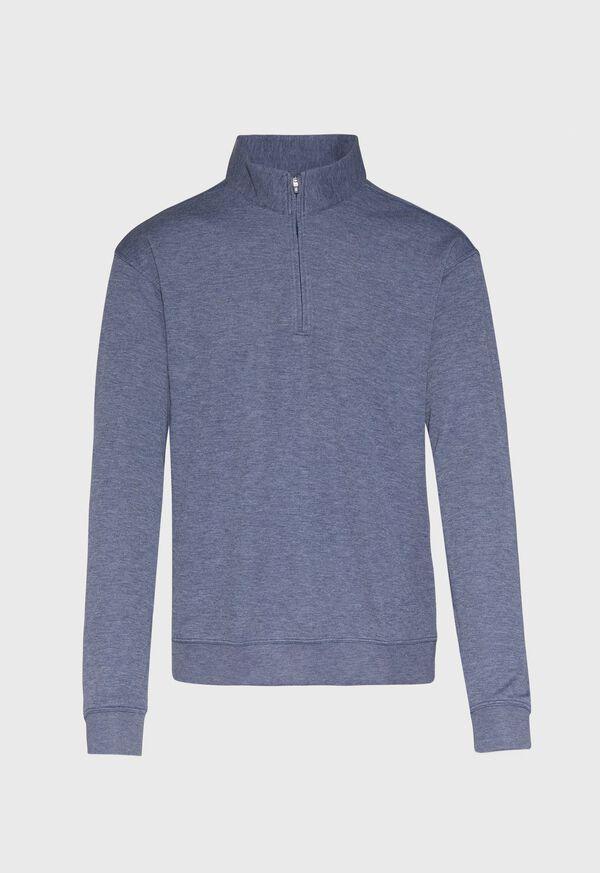 Cotton Blend 1/4 Zip Pullover