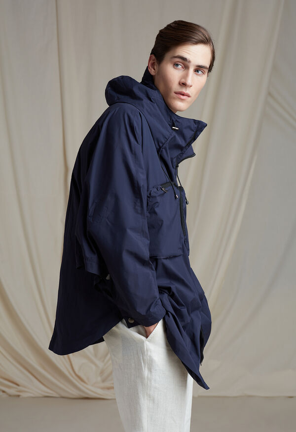 Solid Cape Jacket
