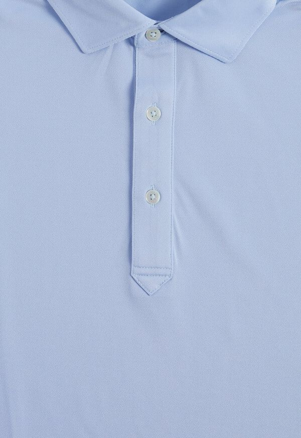 Solid Oxford Performance Polo, image 2