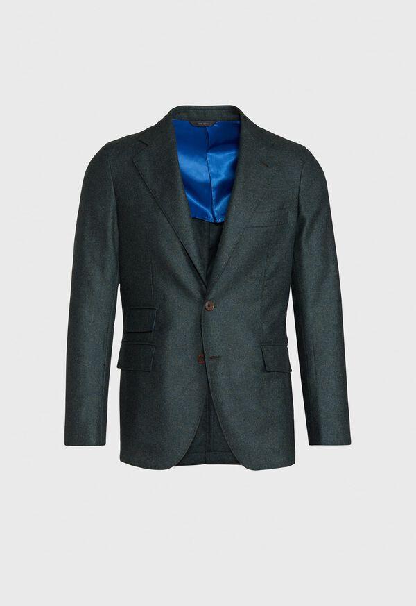 Olive Cashmere Blend Sport Jacket, image 1